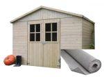 Porovnat ceny LANIT PLAST, S.R.O. záhradný domček LANITPLAST ESTER 281 x 194 cm