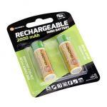 Porovnání ceny Baterie nabíjecí GoGEN AA, HR06, 2000mAh, Ni-MH, blistr 2ks