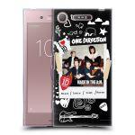 Porovnání ceny Head Case Designs Silikonové pouzdro na mobil Sony Xperia XZ1 - Head Case - One Direction - S kytárou