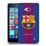 Porovnání ceny Head Case Designs Silikonové pouzdro na mobil Microsoft Lumia 640 - Head Case - FC Barcelona - Logo domácí