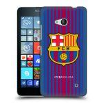 Porovnání ceny Head Case Designs Plastové pouzdro na mobil Microsoft Lumia 640 - Head Case - FC Barcelona - Logo domácí