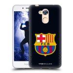 Porovnání ceny Head Case Designs Silikonové pouzdro na mobil Honor 6A - Head Case - FC Barcelona - Goalkeeper black logo