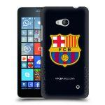 Porovnání ceny Head Case Designs Plastové pouzdro na mobil Microsoft Lumia 640 - Head Case - FC Barcelona - Goalkeeper black logo