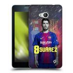 Porovnání ceny Head Case Designs Silikonové pouzdro na mobil Microsoft Lumia 640 - Head Case - FC Barcelona - Luis Suárez 9