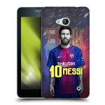 Porovnání ceny Head Case Designs Silikonové pouzdro na mobil Microsoft Lumia 640 - Head Case - FC Barcelona - Lionel Messi 10