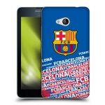 Porovnání ceny Head Case Designs Silikonové pouzdro na mobil Microsoft Lumia 640 - Head Case - FC Barcelona - Impact