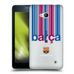 Porovnání ceny Head Case Designs Silikonové pouzdro na mobil Microsoft Lumia 640 - Head Case - FC Barcelona - Barca - čiré