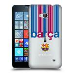 Porovnání ceny Head Case Designs Plastové pouzdro na mobil Microsoft Lumia 640 - Head Case - FC Barcelona - Barca - čiré