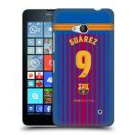 Porovnání ceny Head Case Designs Plastové pouzdro na mobil Microsoft Lumia 640 - Head Case - FC Barcelona - Dres Suárez