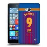 Porovnání ceny Head Case Designs Silikonové pouzdro na mobil Microsoft Lumia 640 - Head Case - FC Barcelona - Dres Suárez