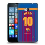 Porovnání ceny Head Case Designs Plastové pouzdro na mobil Microsoft Lumia 640 - Head Case - FC Barcelona - Dres Messi