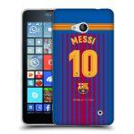 Porovnání ceny Head Case Designs Silikonové pouzdro na mobil Microsoft Lumia 640 - Head Case - FC Barcelona - Dres Messi