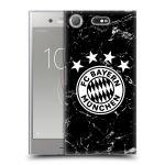 Porovnání ceny Head Case Designs Silikonové pouzdro na mobil Sony Xperia XZ1 Compact - Head Case - FC Bayern Mnichov - Logo mramor