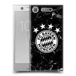 Porovnání ceny Head Case Designs Plastové pouzdro na mobil Sony Xperia XZ1 - Head Case - FC Bayern Mnichov - Logo mramor