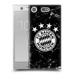 Porovnání ceny Head Case Designs Plastové pouzdro na mobil Sony Xperia XZ1 Compact - Head Case - FC Bayern Mnichov - Logo mramor
