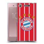 Porovnání ceny Head Case Designs Silikonové pouzdro na mobil Sony Xperia XZ1 - Head Case - FC Bayern Mnichov - Domácí dres