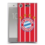 Porovnání ceny Head Case Designs Silikonové pouzdro na mobil Sony Xperia XZ1 Compact - Head Case - FC Bayern Mnichov - Domácí dres
