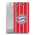 Porovnání ceny Head Case Designs Plastové pouzdro na mobil Sony Xperia XZ1 - Head Case - FC Bayern Mnichov - Domácí dres