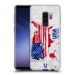 Porovnání ceny Head Case Designs Silikonové pouzdro na mobil Samsung Galaxy S9 Plus - Head Case - GEOMAPA USA