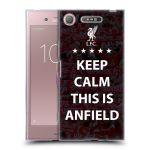 Porovnání ceny Head Case Designs Silikonové pouzdro na mobil Sony Xperia XZ1 - Head Case - Keep Calm This Is Anfield