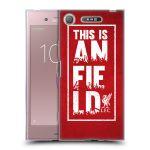 Porovnání ceny Head Case Designs Silikonové pouzdro na mobil Sony Xperia XZ1 - Head Case - Liverpool FC This Is Anfield Red
