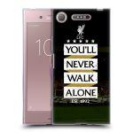 Porovnání ceny Head Case Designs Silikonové pouzdro na mobil Sony Xperia XZ1 - Head Case - LFC You'll Never Walk Alone