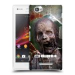 Porovnání ceny Head Case Designs Plastové pouzdro na mobil Sony Xperia M C1905 HEAD CASE The Walking Dead - Walkers Jaw