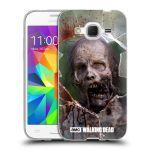 Porovnání ceny Head Case Designs Silikonové pouzdro na mobil Samsung Galaxy Core Prime LTE HEAD CASE The Walking Dead - Walkers Jaw