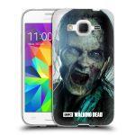 Porovnání ceny Head Case Designs Silikonové pouzdro na mobil Samsung Galaxy Core Prime LTE HEAD CASE The Walking Dead - Walker Bite