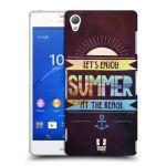 Porovnání ceny Head Case Designs Plastové pouzdro na mobil Sony Xperia Z3 D6603 HEAD CASE Užij si léto na pláži