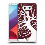 Porovnání ceny Head Case Designs Silikonové pouzdro na mobil LG G6 - Head Case SPLETITÝ STROM RUDÝ