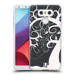 Porovnání ceny Head Case Designs Silikonové pouzdro na mobil LG G6 - Head Case SPLETITÝ STROM ŠEDÝ