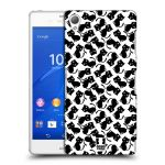 Porovnání ceny Head Case Designs Plastové pouzdro na mobil Sony Xperia Z3 D6603 HEAD CASE KOČKY Black Pattern