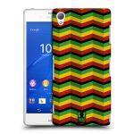 Porovnání ceny Head Case Designs Plastové pouzdro na mobil Sony Xperia Z3 D6603 HEAD CASE RASTA CHEVRON