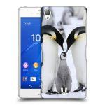 Porovnání ceny Head Case Designs Plastové pouzdro na mobil Sony Xperia Z3 D6603 HEAD CASE DIVOČINA – TUČŇÁCI
