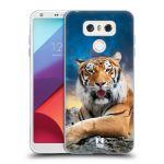 Porovnání ceny Head Case Designs Silikonové pouzdro na mobil LG G6 - Head Case DIVOČINA – TYGR
