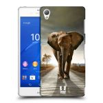 Porovnání ceny Head Case Designs Plastové pouzdro na mobil Sony Xperia Z3 D6603 HEAD CASE DIVOČINA – SLON
