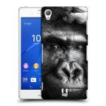 Porovnání ceny Head Case Designs Plastové pouzdro na mobil Sony Xperia Z3 D6603 HEAD CASE DIVOČINA – GORILA