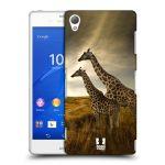 Porovnání ceny Head Case Designs Plastové pouzdro na mobil Sony Xperia Z3 D6603 HEAD CASE DIVOČINA – ŽIRAFY