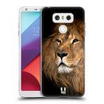 Porovnání ceny Head Case Designs Silikonové pouzdro na mobil LG G6 - Head Case DIVOČINA – LEV