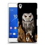 Porovnání ceny Head Case Designs Plastové pouzdro na mobil Sony Xperia Z3 D6603 HEAD CASE DIVOČINA – SOVA