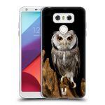 Porovnání ceny Head Case Designs Silikonové pouzdro na mobil LG G6 - Head Case DIVOČINA – SOVA