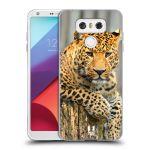 Porovnání ceny Head Case Designs Silikonové pouzdro na mobil LG G6 - Head Case DIVOČINA – LEOPARD