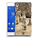 Porovnání ceny Head Case Designs Plastové pouzdro na mobil Sony Xperia Z3 D6603 HEAD CASE DIVOČINA – SURIKATY