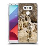 Porovnání ceny Head Case Designs Silikonové pouzdro na mobil LG G6 - Head Case DIVOČINA – SURIKATY