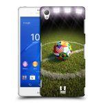 Porovnání ceny Head Case Designs Plastové pouzdro na mobil Sony Xperia Z3 D6603 HEAD CASE FOTBALOVÝ MÍČ ZEMÍ