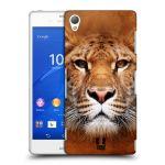 Porovnání ceny Head Case Designs Plastové pouzdro na mobil Sony Xperia Z3 D6603 HEAD CASE TVÁŘ LIGER