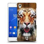 Porovnání ceny Head Case Designs Plastové pouzdro na mobil Sony Xperia Z3 D6603 HEAD CASE TVÁŘ TYGR
