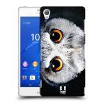 Porovnání ceny Head Case Designs Plastové pouzdro na mobil Sony Xperia Z3 D6603 HEAD CASE TVÁŘ SOVA