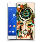 Porovnání ceny Head Case Designs Plastové pouzdro na mobil Sony Xperia Z3 D6603 HEAD CASE BLOOM APRICOT